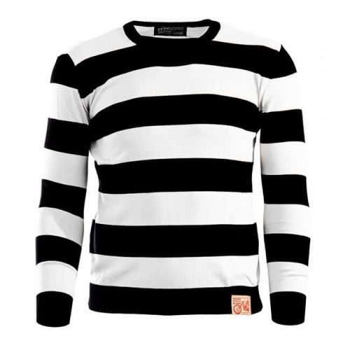 13 1-2 OUTLAW SWEATER BLACKOFF WHITE