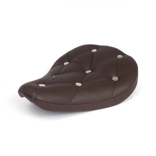 Asiento solo Fitzz 4cm brown-rivets
