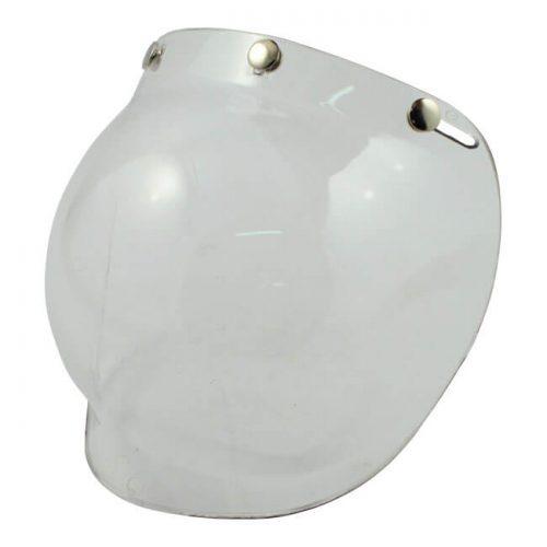 Pantalla tipo burbuja de la marca Bandit transparente