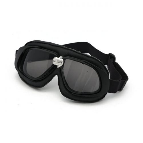 Gafas Bandit Classic Goggles negras lente ahumada