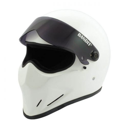 Casco integral Bandit Crystal blanco DOT