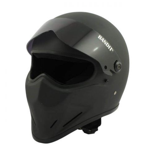 Casco integral Bandit Crystal negro mate DOT