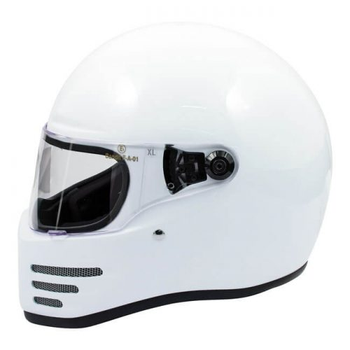Casco integral Bandit Fighter blanco ECE