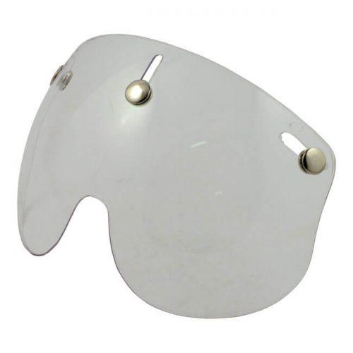 Pantalla de la marca Bandit transparente válida para todos los cascos de tipo jet