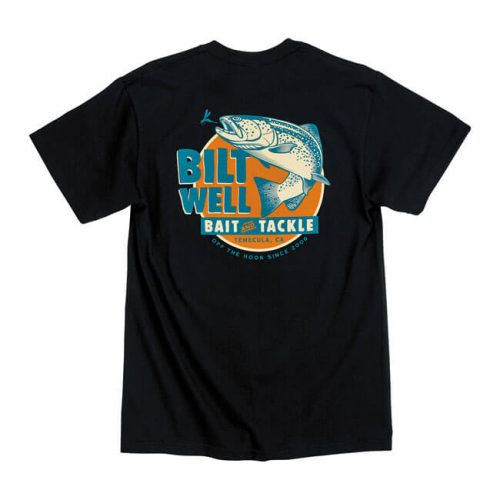 Camiseta de la marca Biltwell con bolsillo delantero, fabricada en algodón 100% y pre-encogida