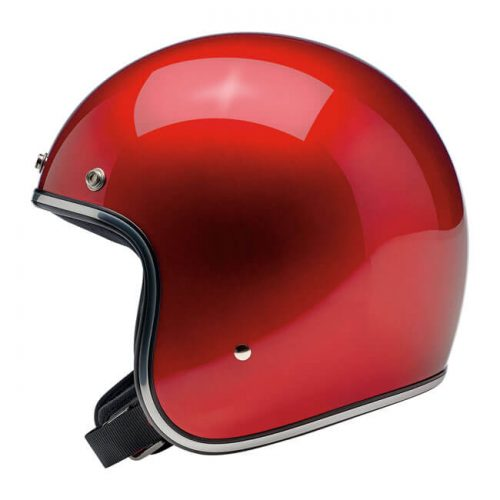 BILTWELL BONANZA HELMET METALLIC CANDY RED 1