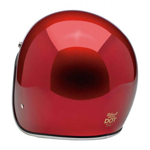 BILTWELL BONANZA HELMET METALLIC CANDY RED 1