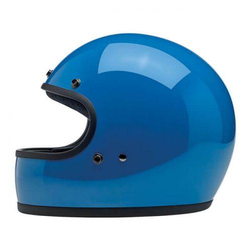 BILTWELL GRINGO HELMET GLOSS TAHOE BLUE 1