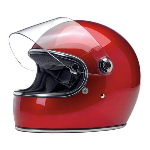 BILTWELL GRINGO S HELMET METALLIC CANDY RED 1