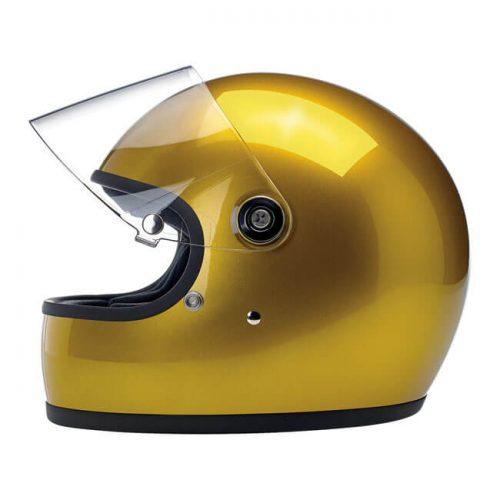 BILTWELL GRINGO S HELMET METALLIC YUKON GOLD 1