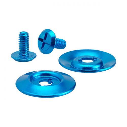 Kit tornillos para pantalla Biltwell azul