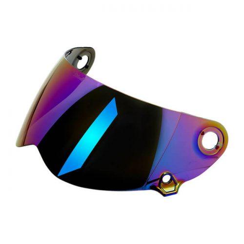 Pantalla Biltwell Lane splitter Gen-2 Rainbow Mirror ECE
