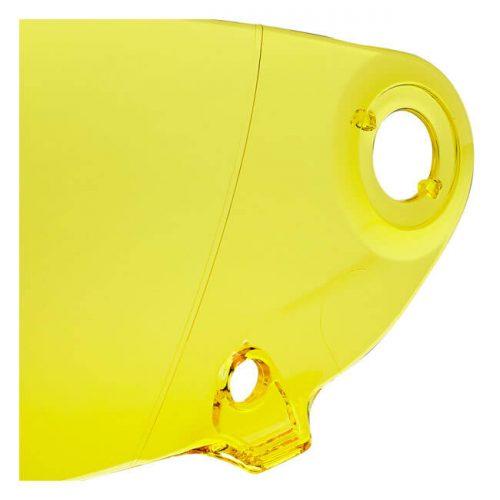Pantalla Biltwell Lane splitter Gen-2 amarilla ECE