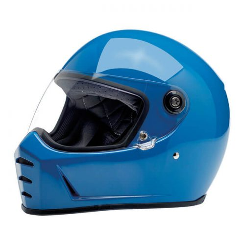 BILTWELL LANE SPLITTER HELMET GLOSS TAHOE BLUE 1