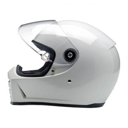 BILTWELL LANE SPLITTER HELMET GLOSS WHITE ECE APPR. 1