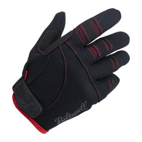 Guantes Biltwell Moto negro/rojo