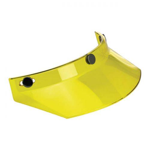 Visera Biltwell para Gringo y Bonanza amarilla translúcida