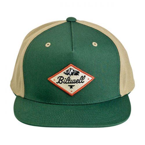 Gorra Biltwell Rocky Mountain verde/beige