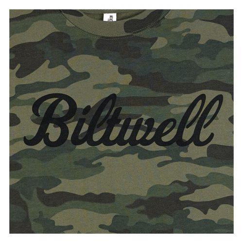 Sudadera Biltwell Script cuello redondo camo