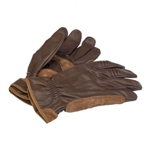 Guantes Biltwell Work de piel marrón