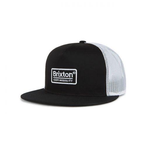 Gorra Brixton Palmer negra/blanca