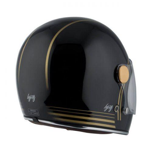 Casco integral By City Roadster Gold Black ECE