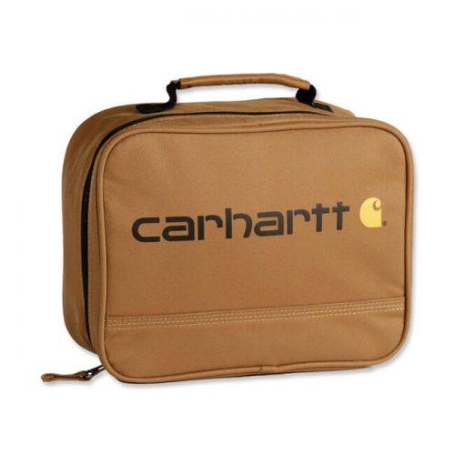 Mochila fiambrera de la marca Carhartt marrón