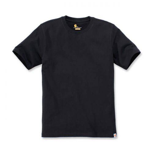 Camiseta básica de la marca Carhartt fabricada en 100% algodón. Cuello redondo y etiqueta de clip con el logo de la marca negra