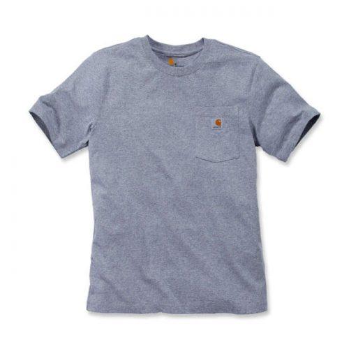 Camiseta Carhartt Workwear bolsillo gris