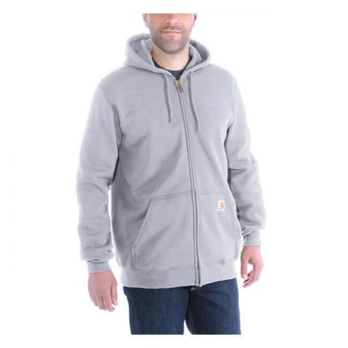 Sudadera Carhartt Zip gris