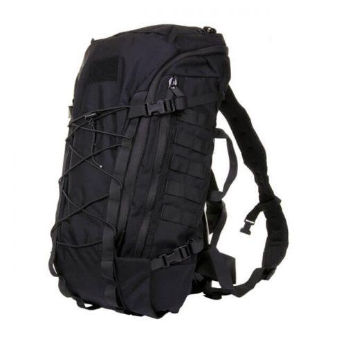 Mochila de apertura total con una cremallera, ideal para llevar el equipaje bien puesto.