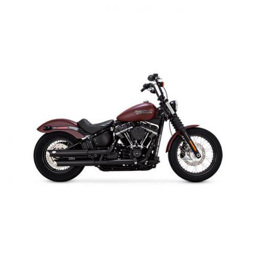 """Colas Vance&Hines Twin Salsh 3"""" Color negro Validas para todos los modelos Harley Davidson Softail del año 2018 en adelante"""
