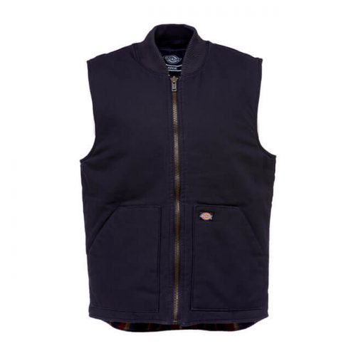 Chaleco Dickies Lawrenceburg Canvas negro