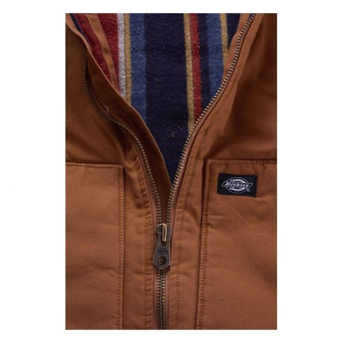 Chaleco Dickies Lawrenceburg Canvas marrón