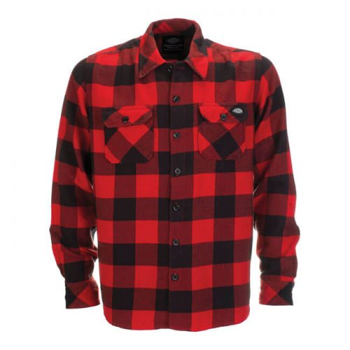 DICKIES SACRAMENTO SHIRT RED 1