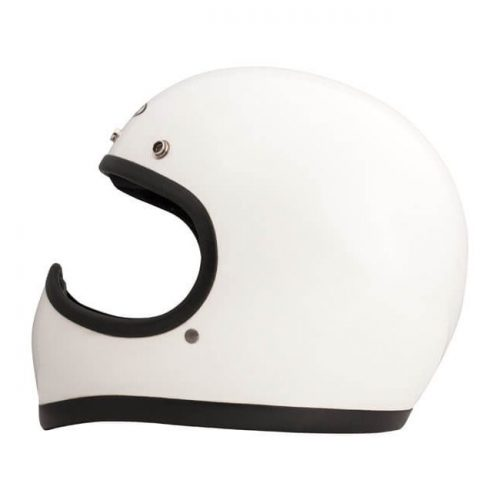 Casco integral DMD Racer White ECE