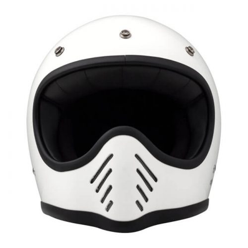 Casco integral DMD Seventy Five blanco ECE