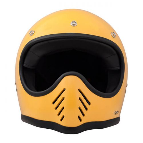 Casco integral DMD Seventy Five amarillo ECE