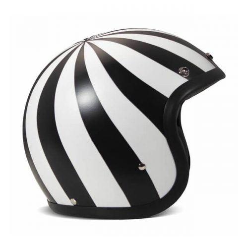 Casco jet DMD Vintage Lollipop ECE