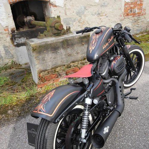 Guardabarros trasero Cultwerk XL estilo original negro 3