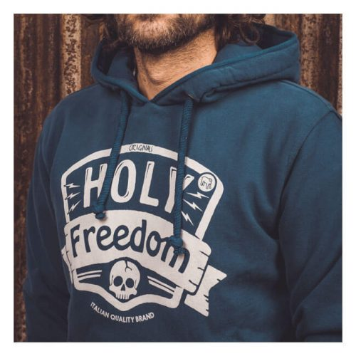Sudadera Holy Freedom azul
