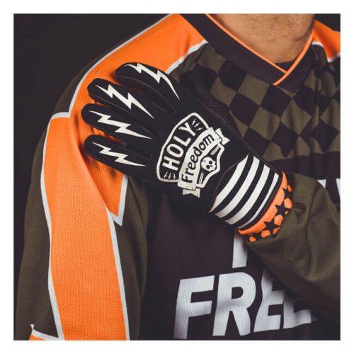 Guantes Holy Freedom Hotwheels negro