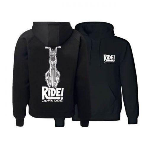 Sudadera John Doe Ride negra