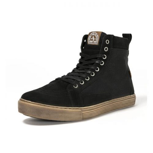 Calzado John Doe Motorcycle Sneakers Neo negro/marrón
