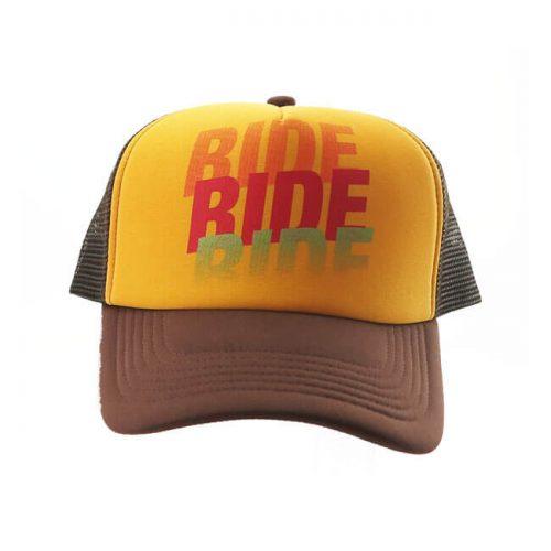ROEG TRUCKER CAP RIDE BROWN 2