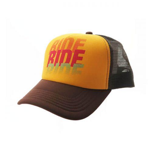 ROEG TRUCKER CAP RIDE BROWN 3