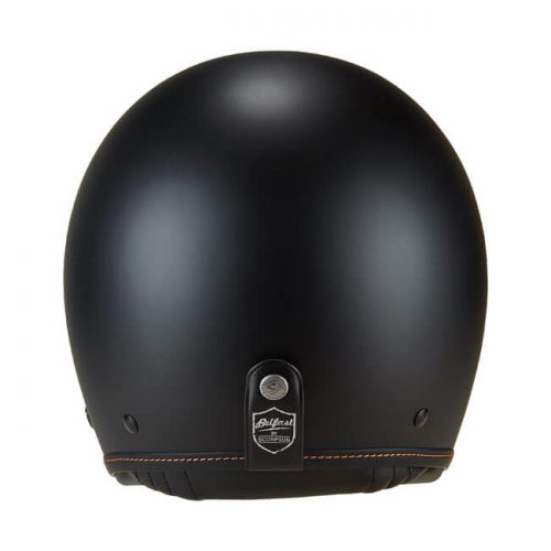 Casco jet Scorpion Belfast Solid Matte Black ECE
