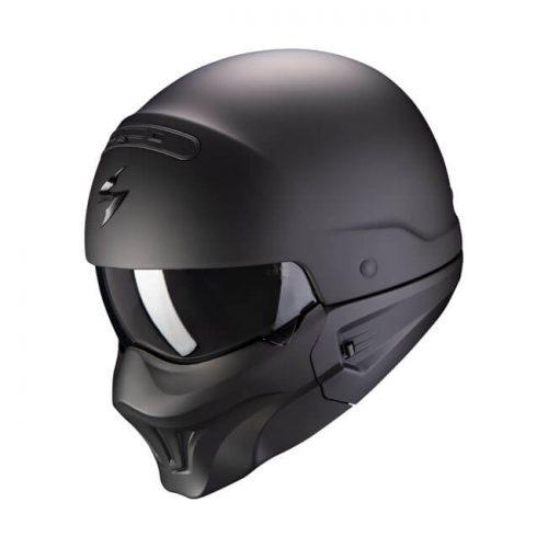 Casco integral Scorpion Exo-Combat Solid Matte Black ECE
