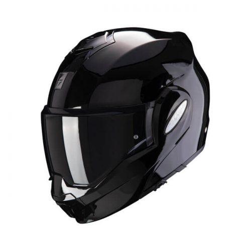 Casco modular Scorpion Exo-Tech Black ECE