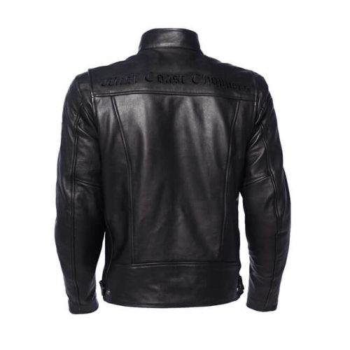 Chaqueta West Coast Choppers CFL Leather Riding negra
